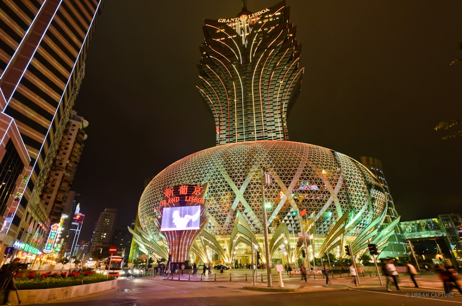 Grand Lisboa exterior best family friendly hotels Macau Lifestyle
