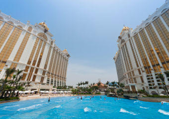 Skytop Wave Pool Grand Resort Deck at Galaxy Macau