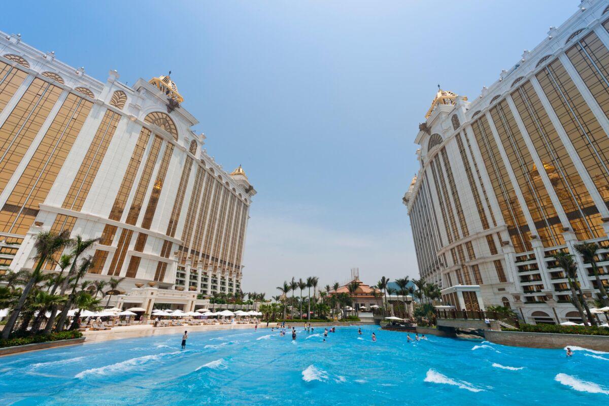 Grand Resort Deck Skytop Wave Pool Reasons to visit macau