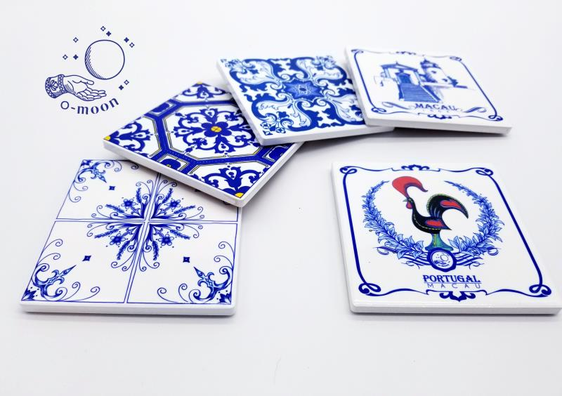 O-Moon Ceramic Coaster 2