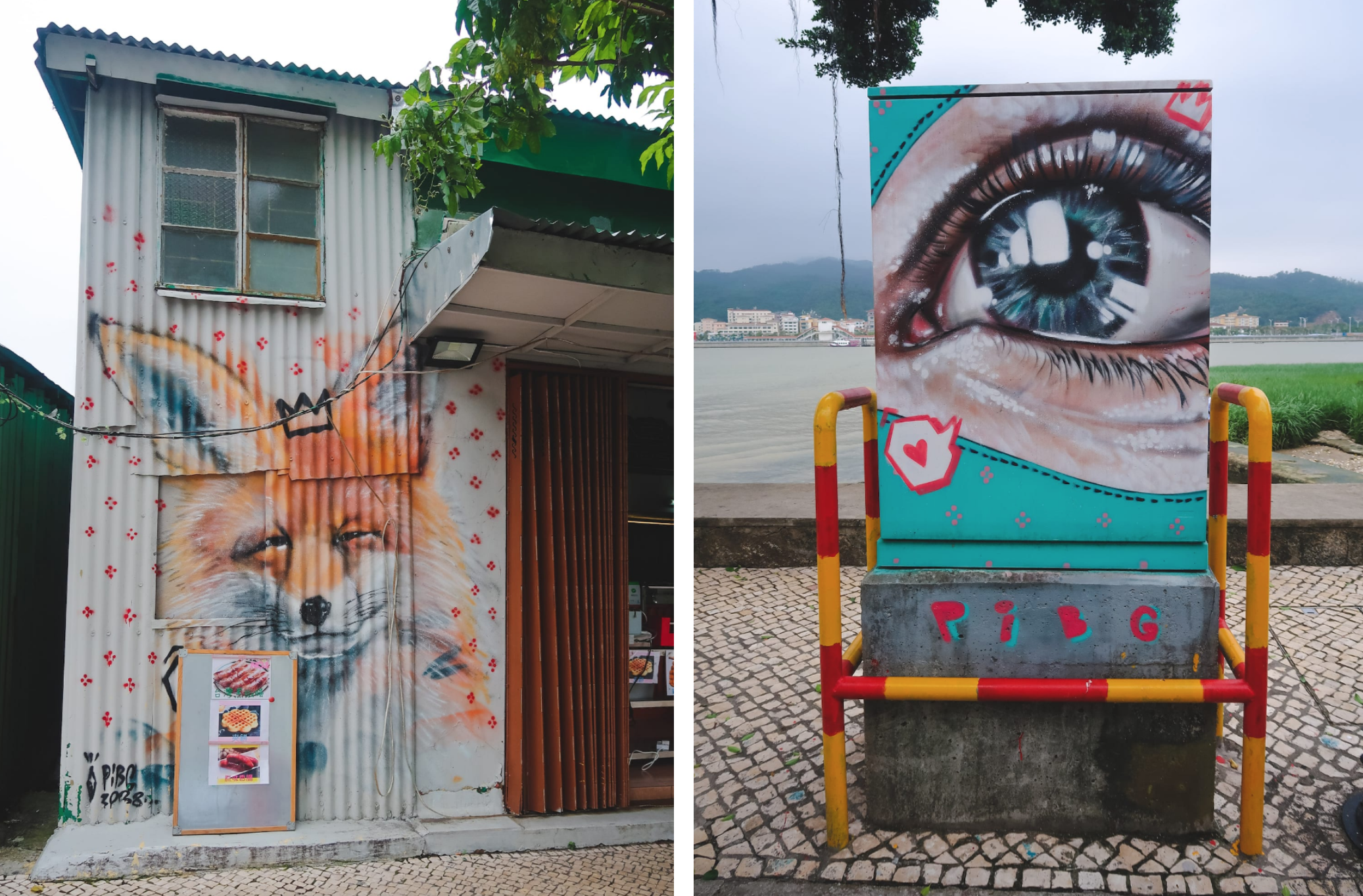 Street Art in Coloane Village Macau Lifestyle