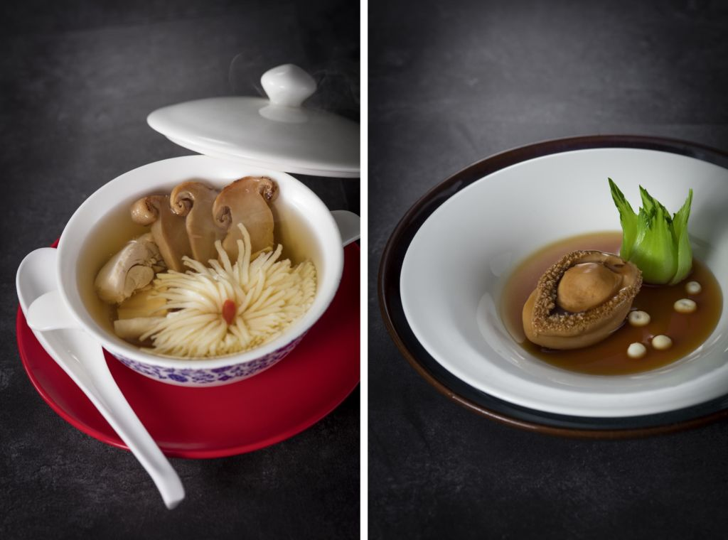 TNK - Stewed chicken Soup with Matsutake and shaped To double