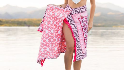 beach towel cover-up