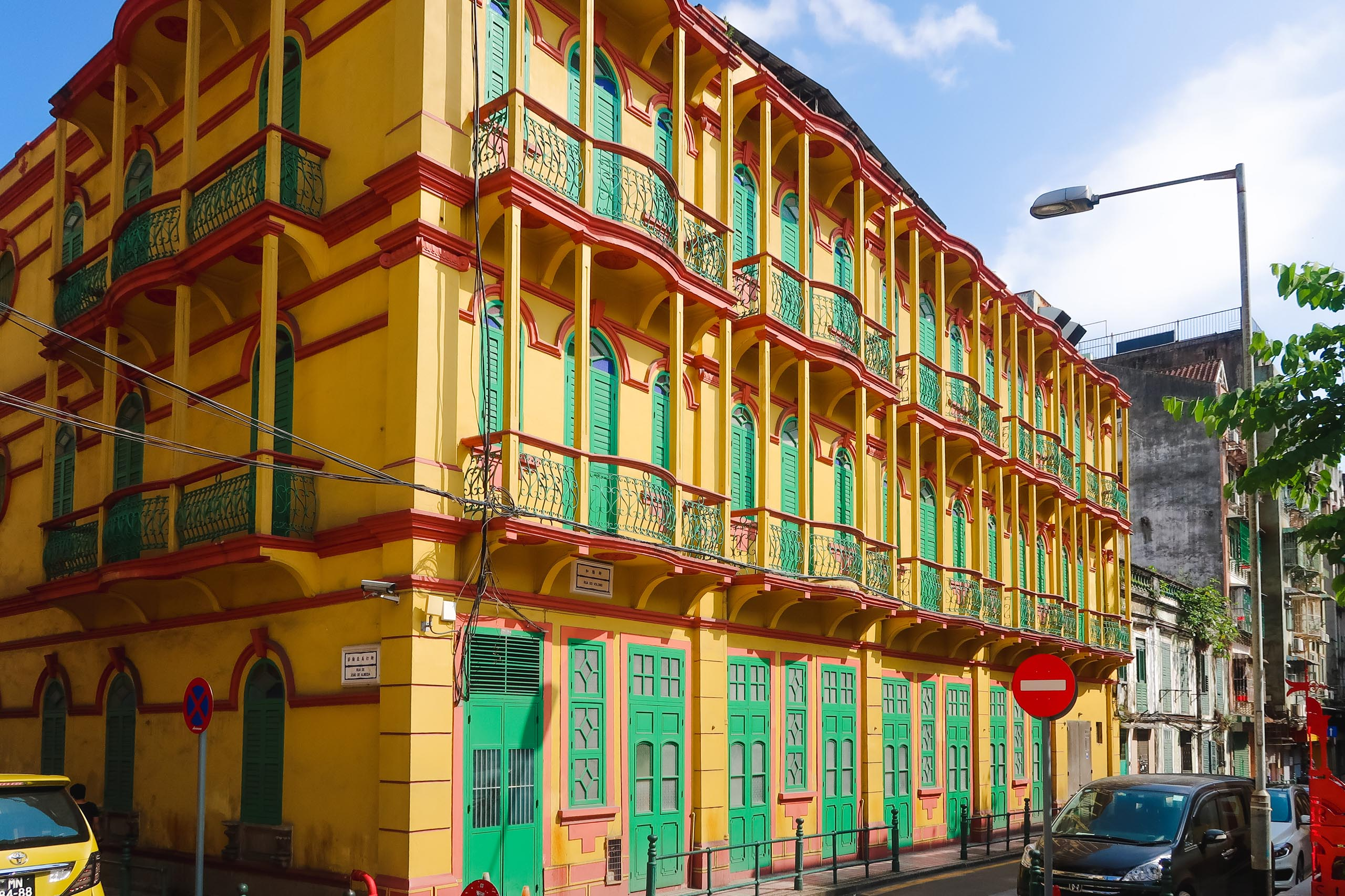 instagrammable buildings in macau