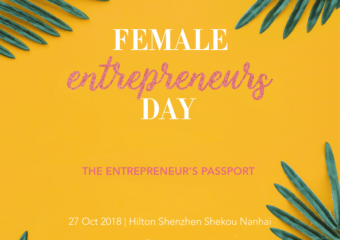 FED Female Entrepreneurs Day October 27 Shenzhen