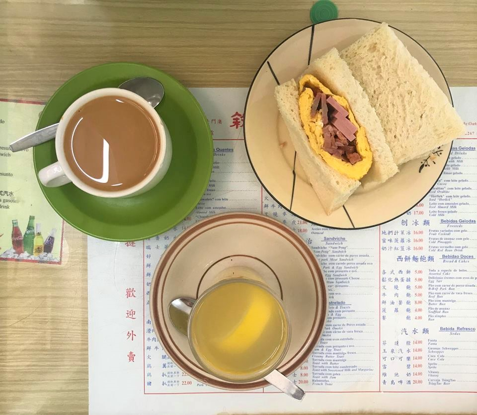 Nam Ping Cafe Sandwich and coffee
