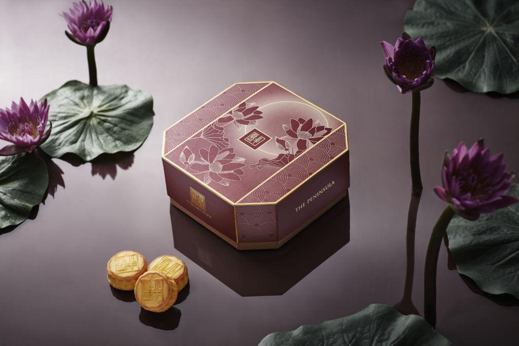 The Peninsula Mini Egg Custard Mooncakes HK$ 368