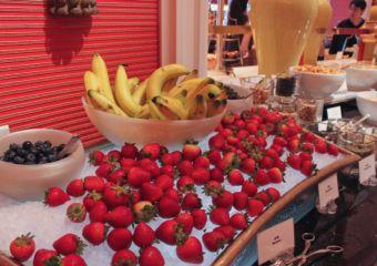 Fontana Buffet fruit station