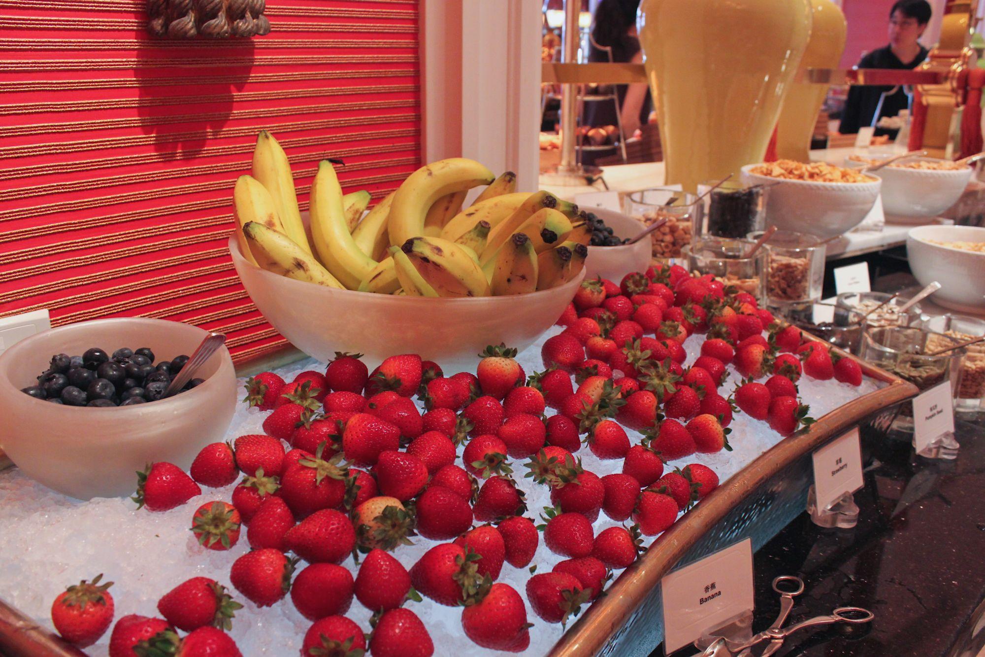 Macau's Best Hotel Breakfasts wynn palace cotai fontana buffet breakfast
