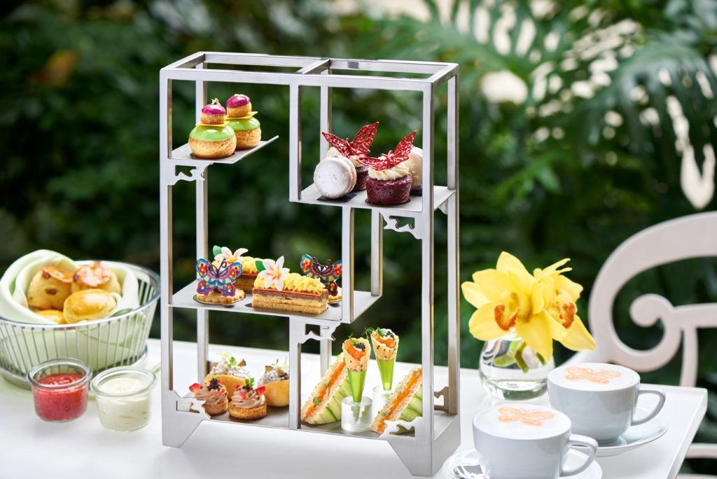 Macau Lantern Festival Butterfly Story Afternoon Tea Set