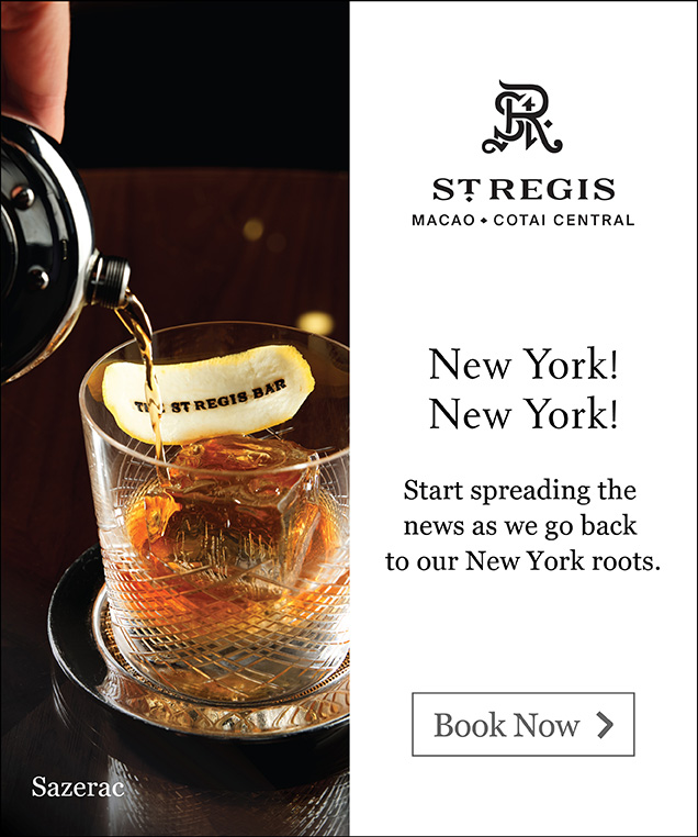 Stregis Bar Macau