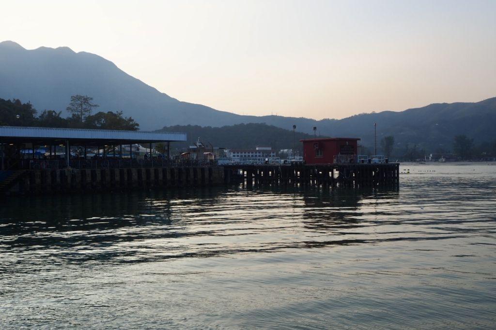 mui wo ferry pier view
