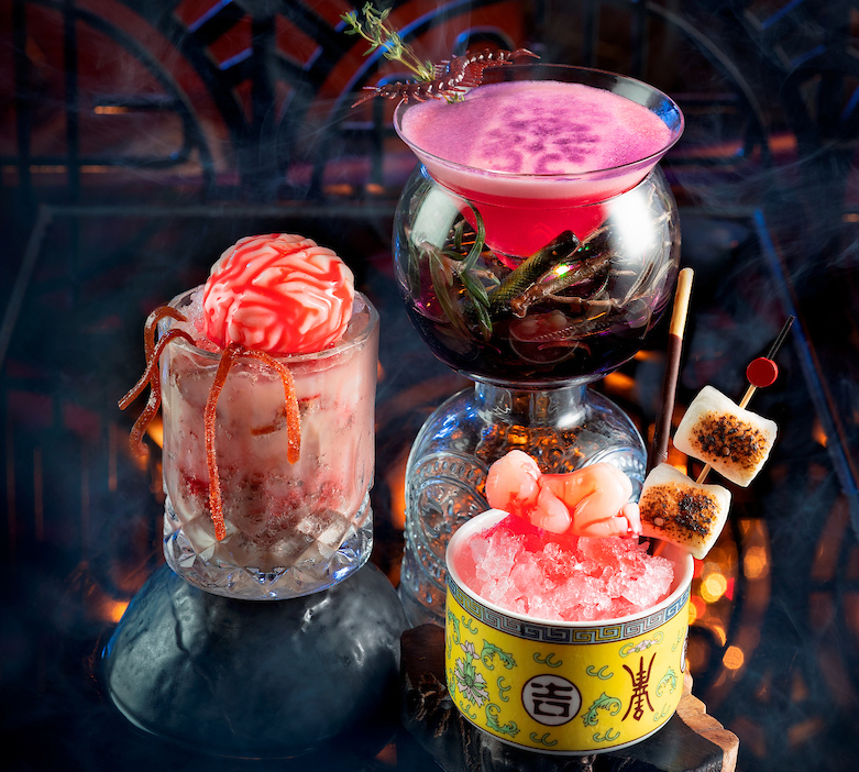 China Rouge Halloween Special Drinks