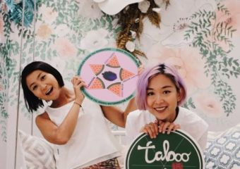 founders of Taboocha, Lisa Patricia Lam