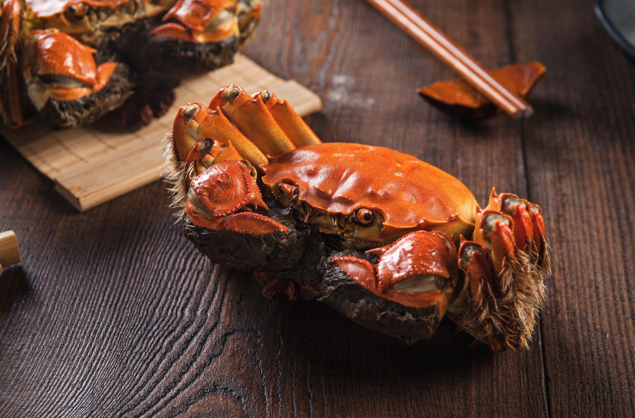 hairy crab sofitel