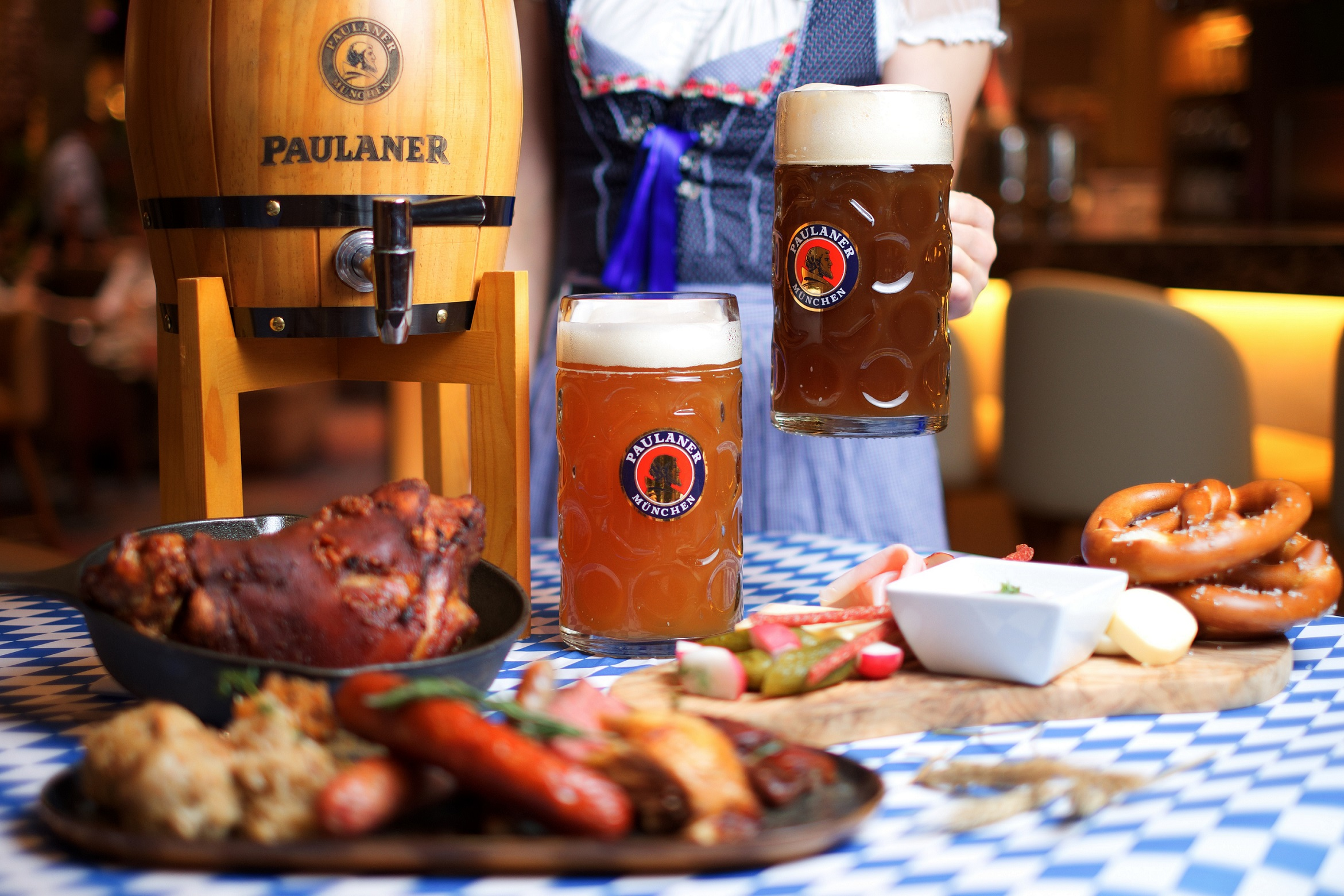 Authentic Bavarian Food At Palms Café And Bar's German