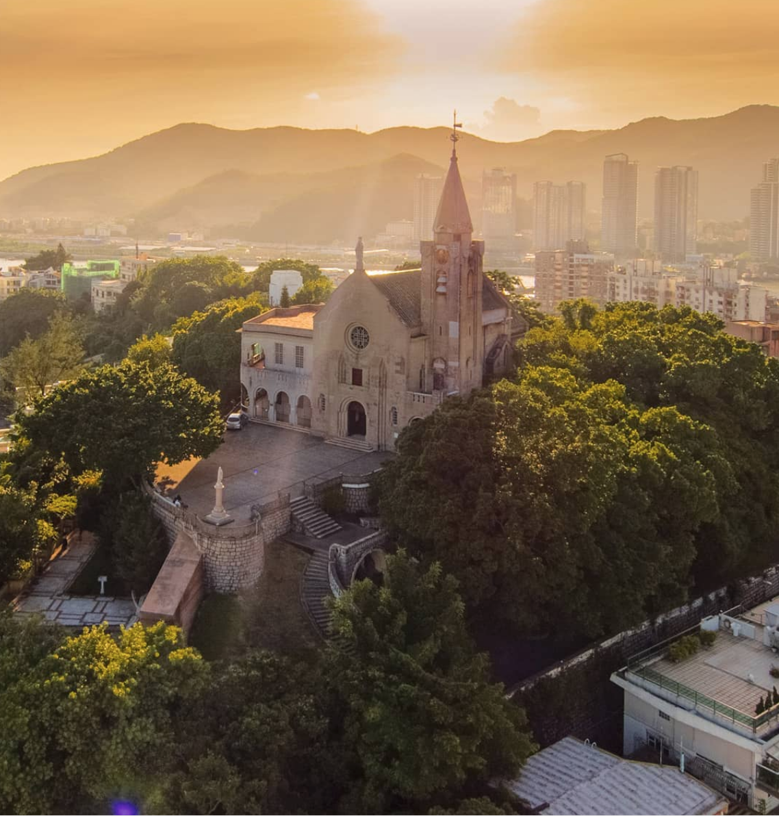 Sunsets Article at Penha Hill by @macaouk