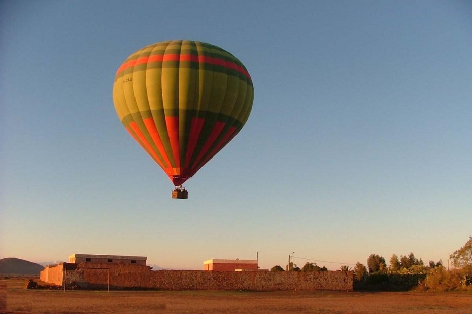 Marrakesh hot air balloon