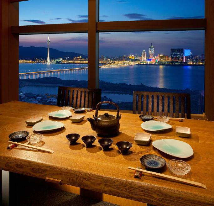 Macau Restaurants With a View Tenmasa
