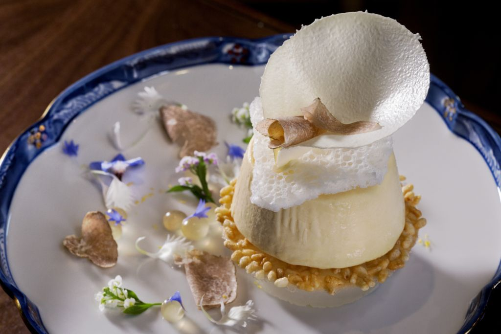 white truffle desert