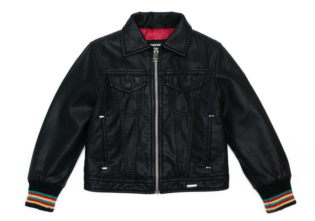 DIESEL Leather Jacket $4190 at Harvey Nichols