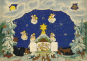 The first advent calendar