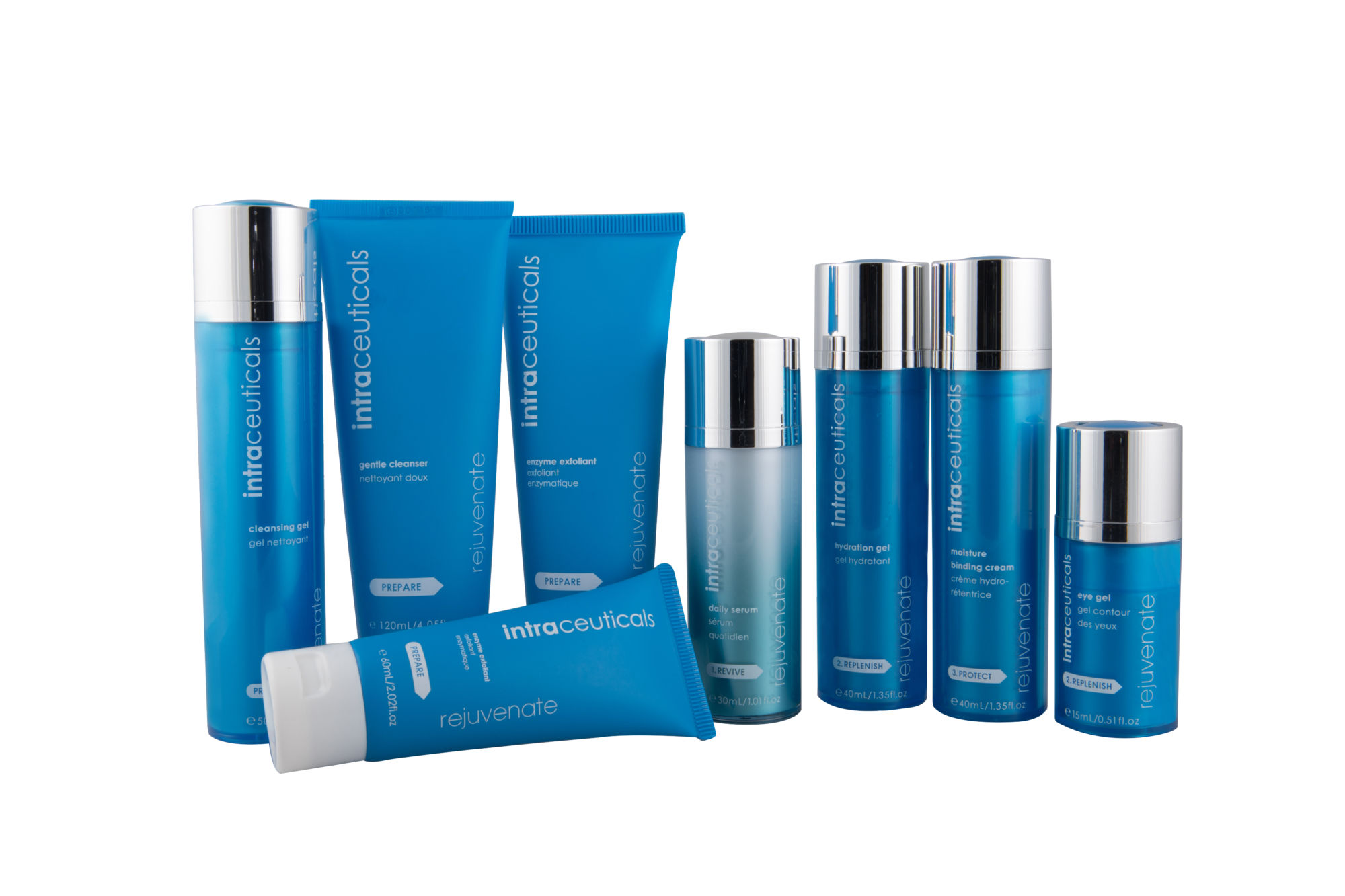Rejuvenate product range