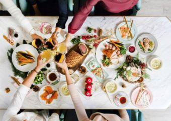 Cha Bei festive menu