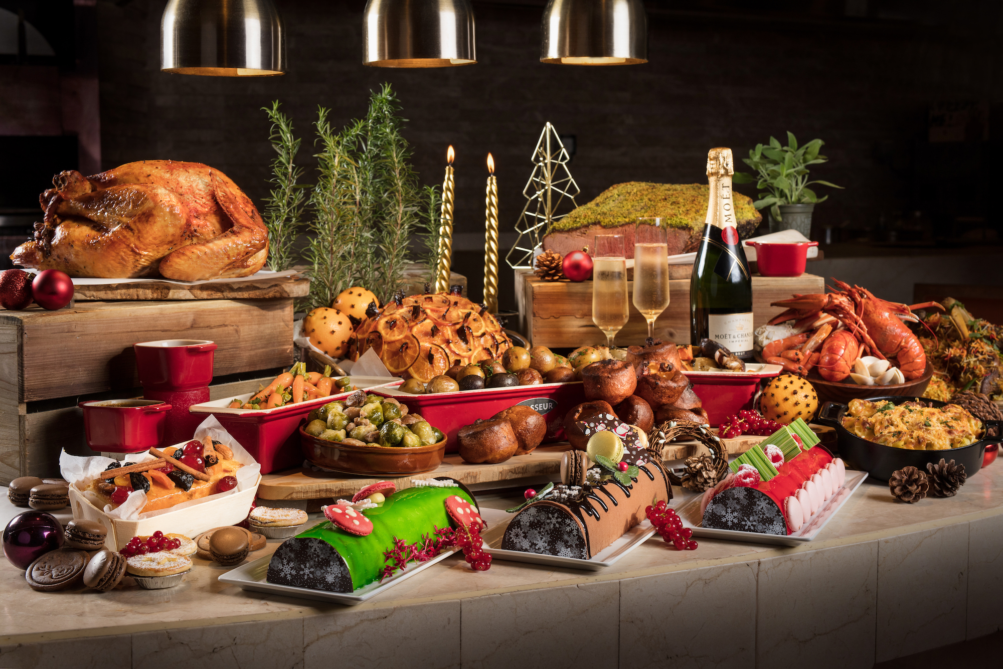 Feast Xmas Buffet Offers