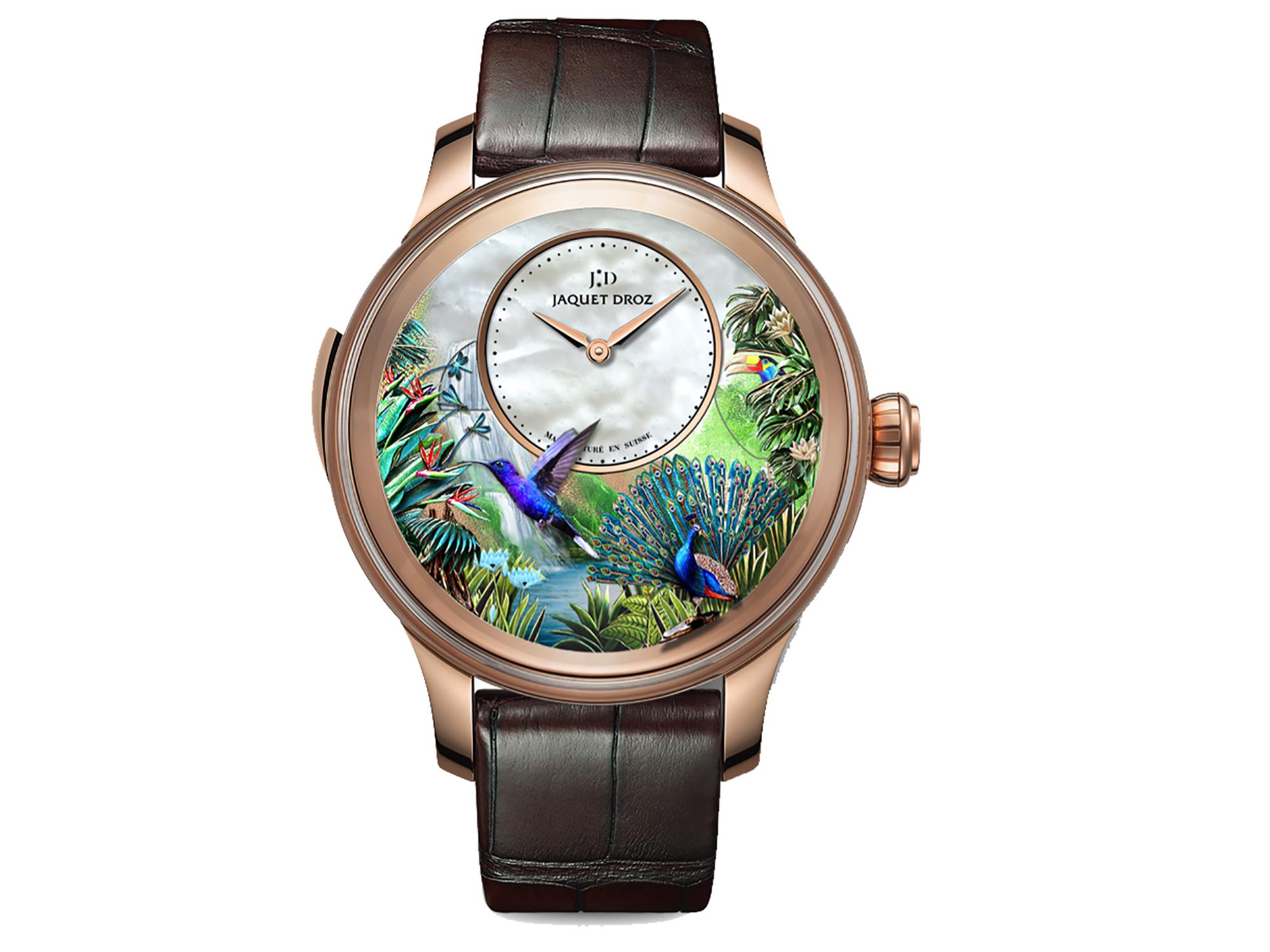 JAQUET-DROZ Tropical Bird Repeater
