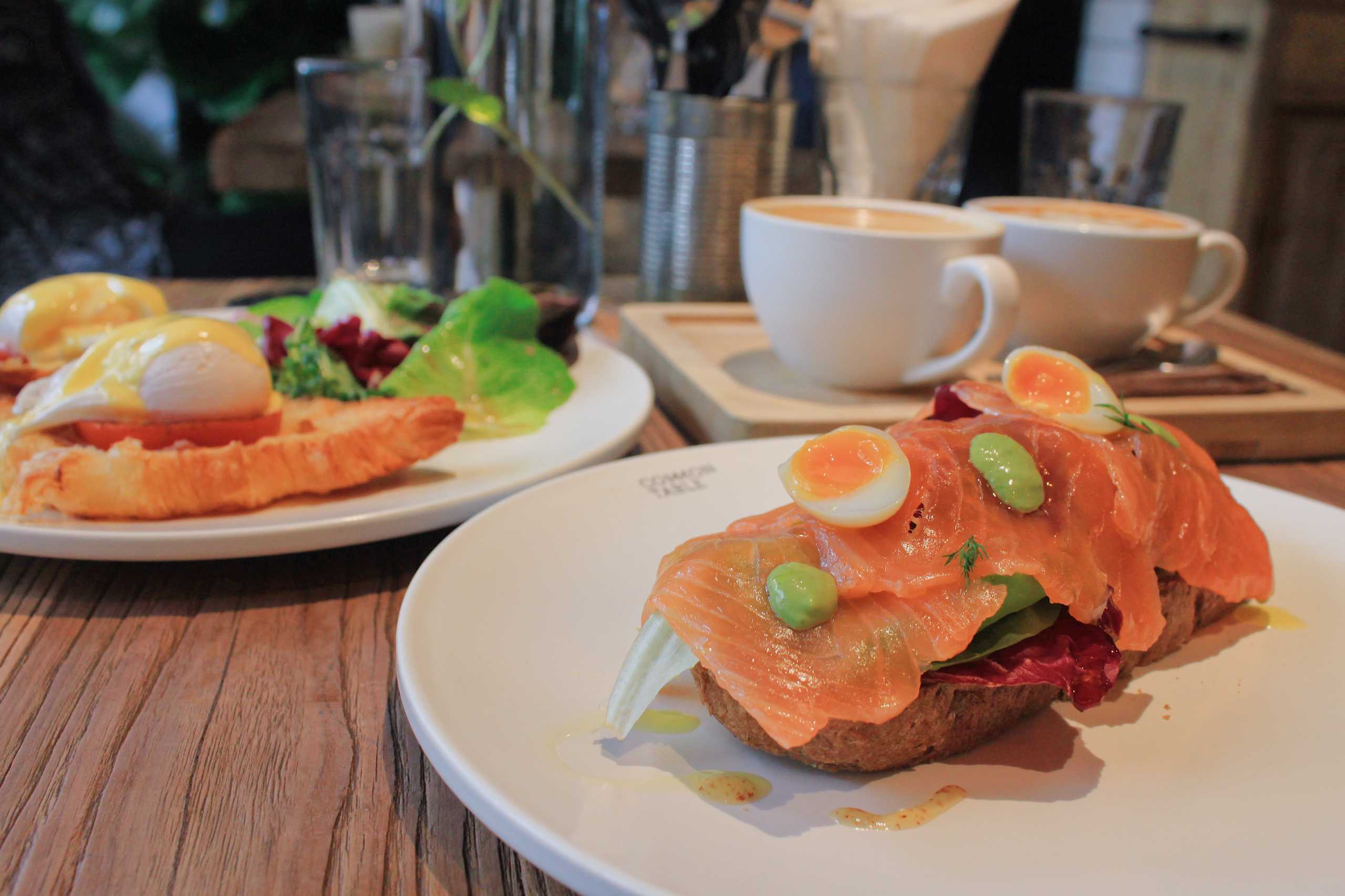 Common Table_breakfast_taipa_salmon toast_Best Places for Healthy Breakfasts in Macau
