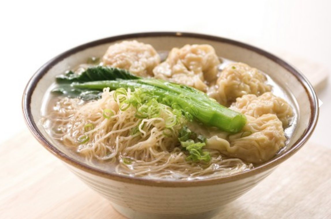 wonton noodles noodle and congee