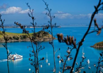 Tourism New Zealand waiheke-view-with-fullers-ferry