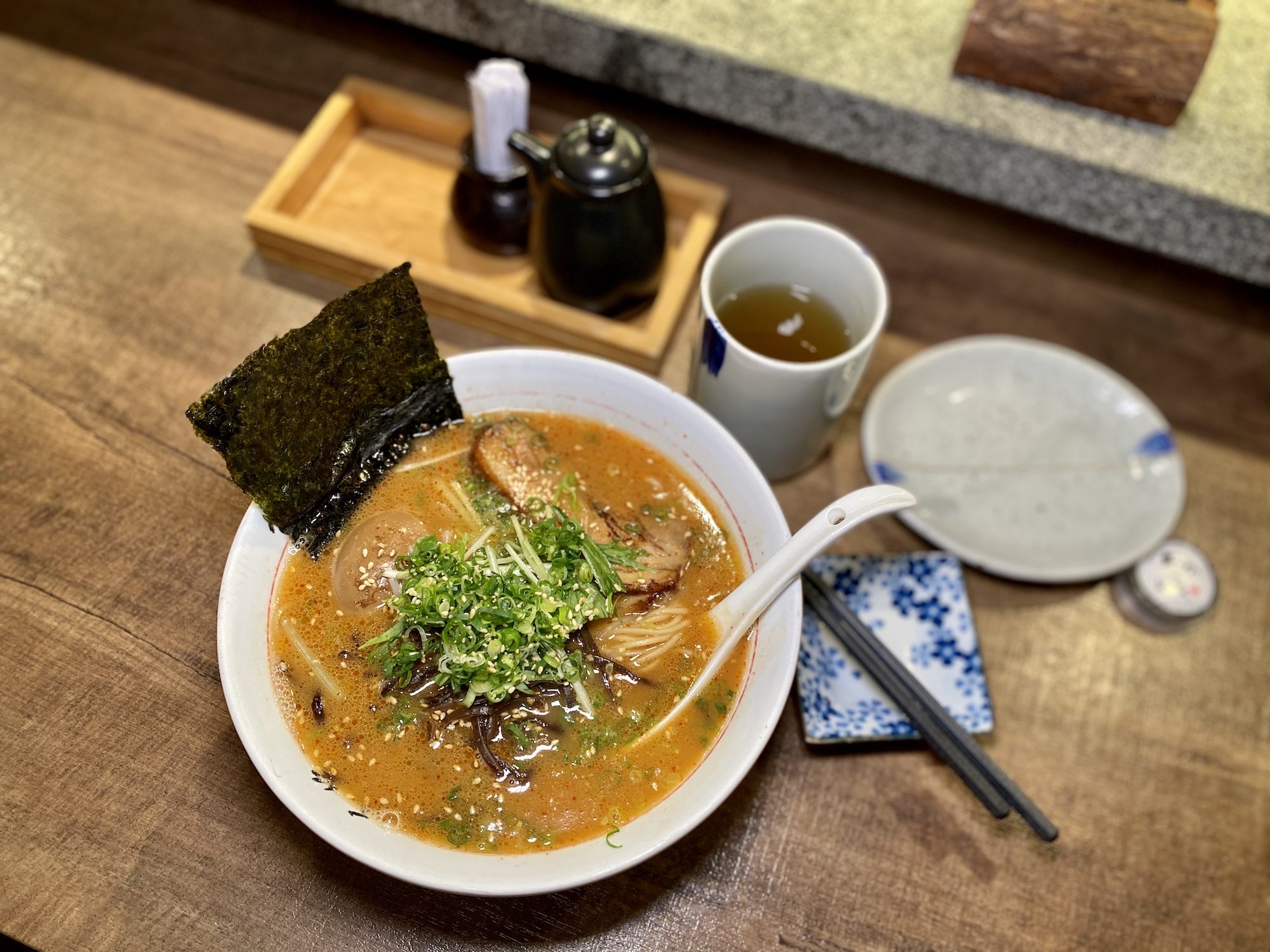 chi sasa signature ramen seasoned pork macau lifestyle