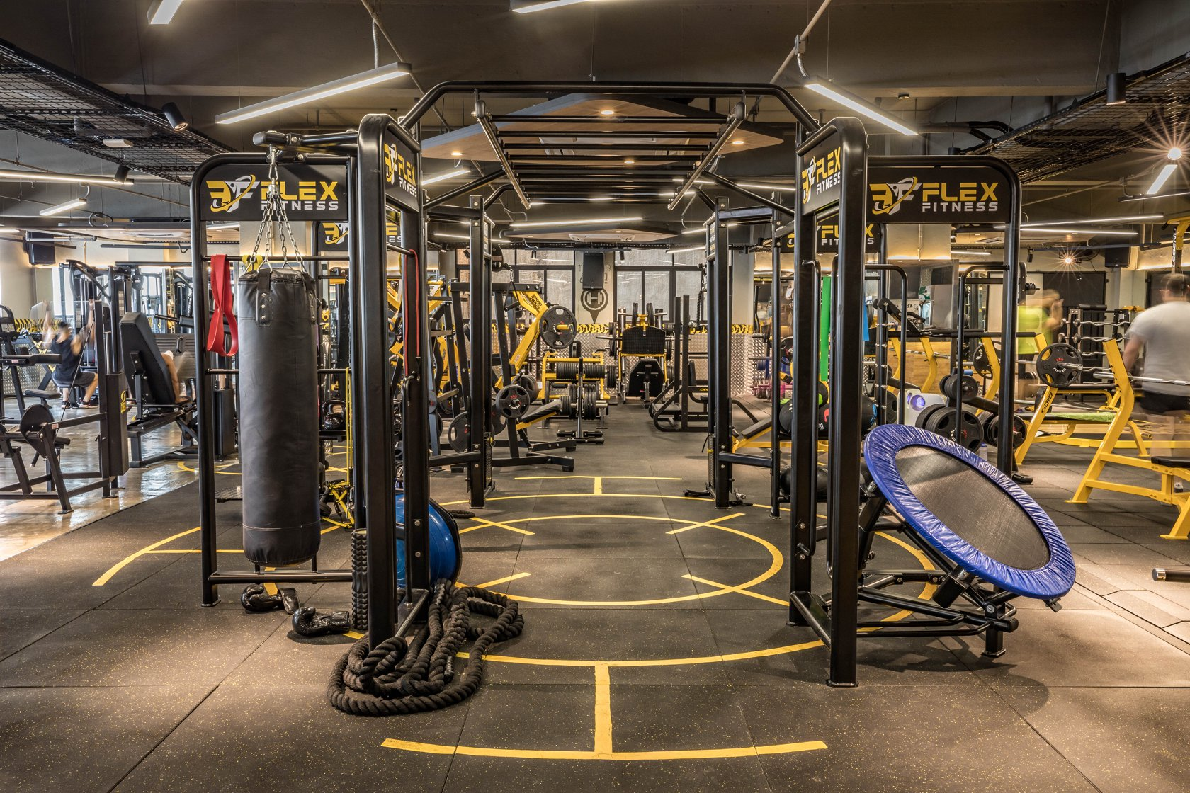 flex fitness gym macau functional boxing ropes