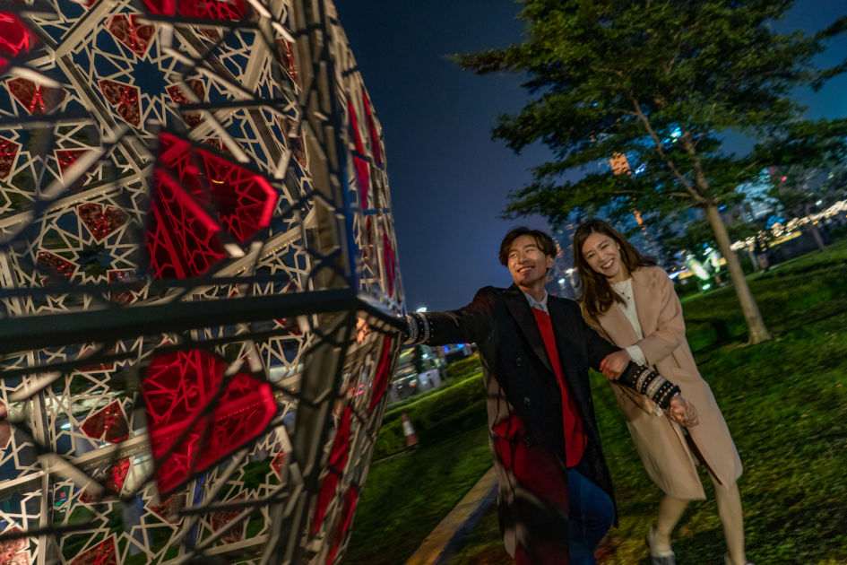 Hong Kong events February International Light Art Display