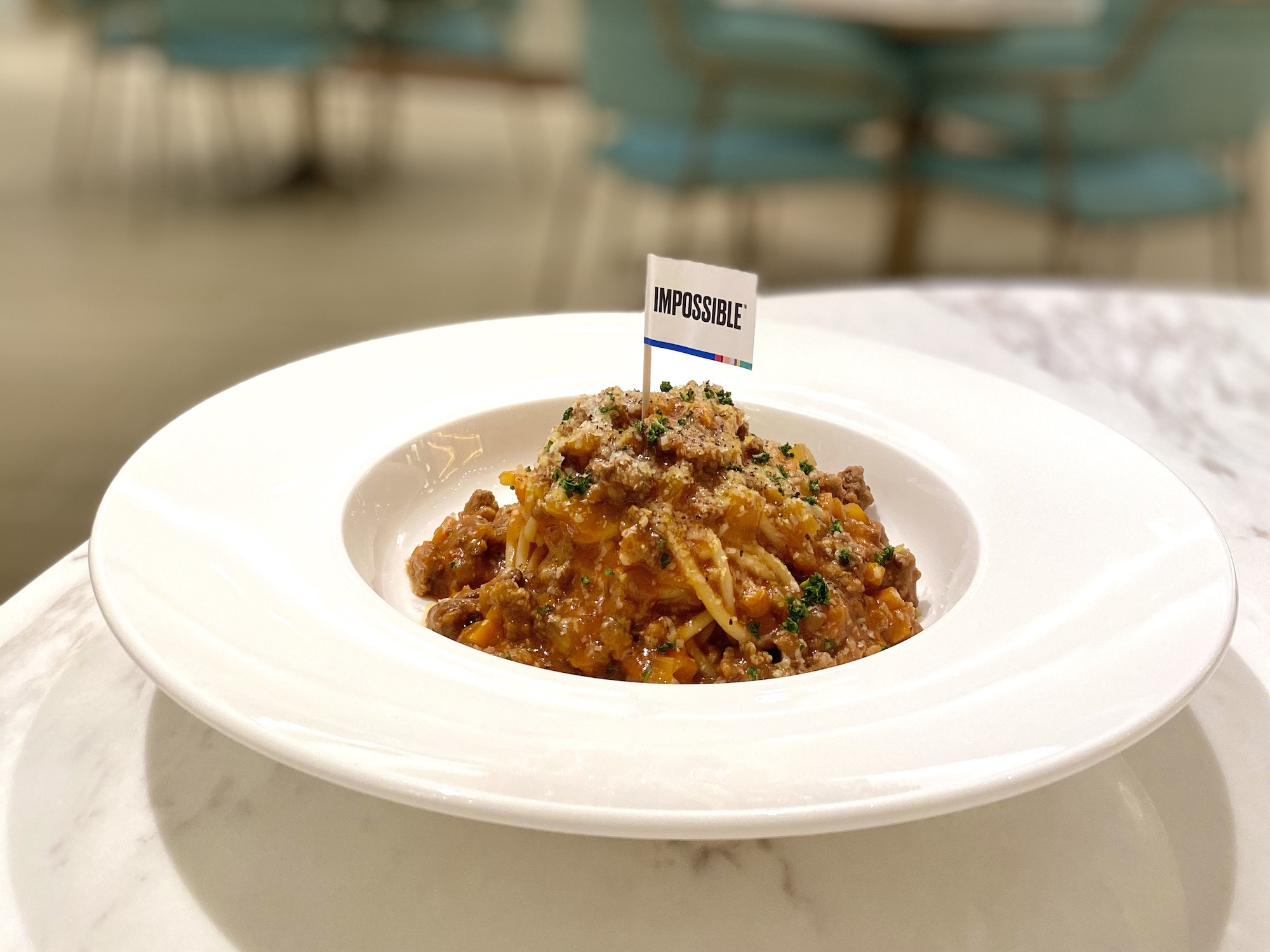 cha bei impossible bolognese pasta galaxy macau