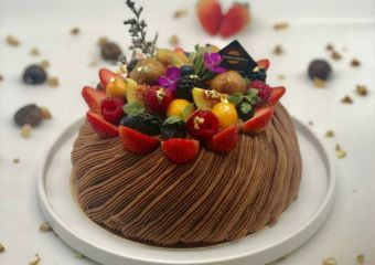 veggie castle cake