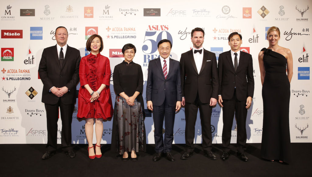 Asia's 50 Best Restaurants 2019 Group Photo