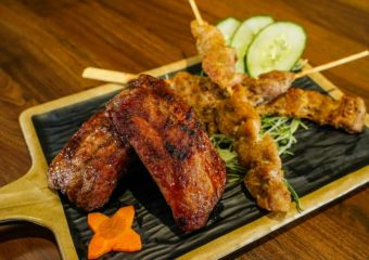 Kumano Tomahawk food taipa village grilled-chicken-wingette-and-cartilage