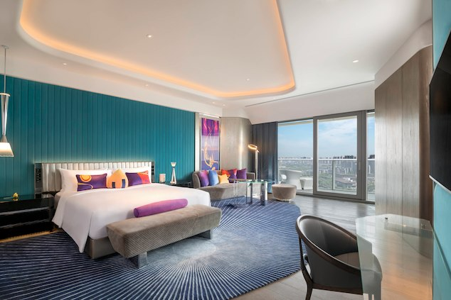 The W Xian- Macau Lifestyle Spectacular Suite – Bedroom
