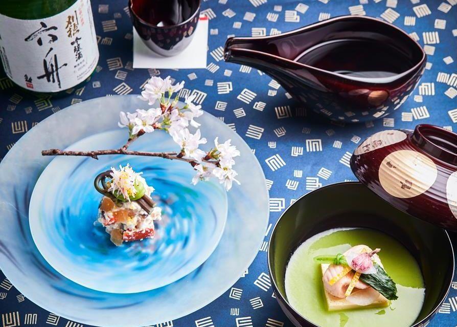 to eat Macau April Yamazato_Akita Sake pairing menu at Yamazato