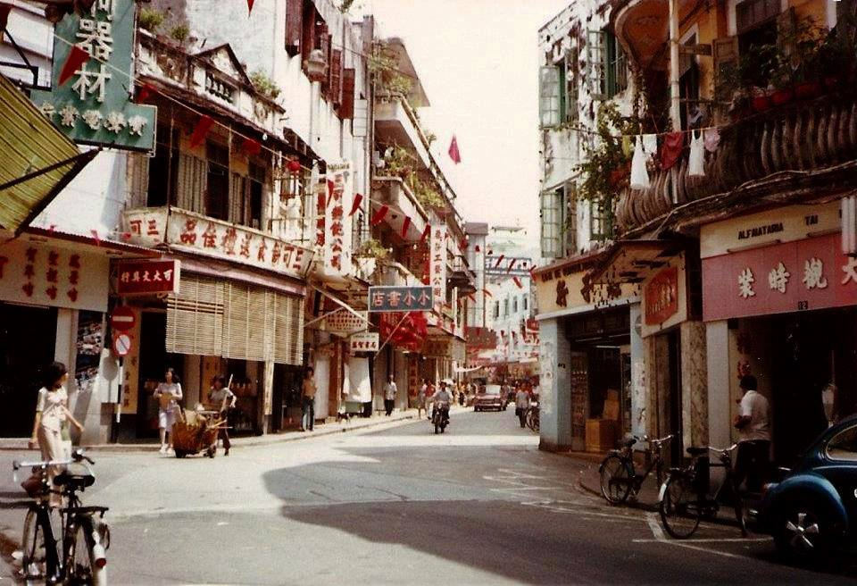 macau oldest streets