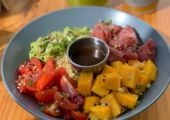 Macau best salad healthy habits tuna bowl