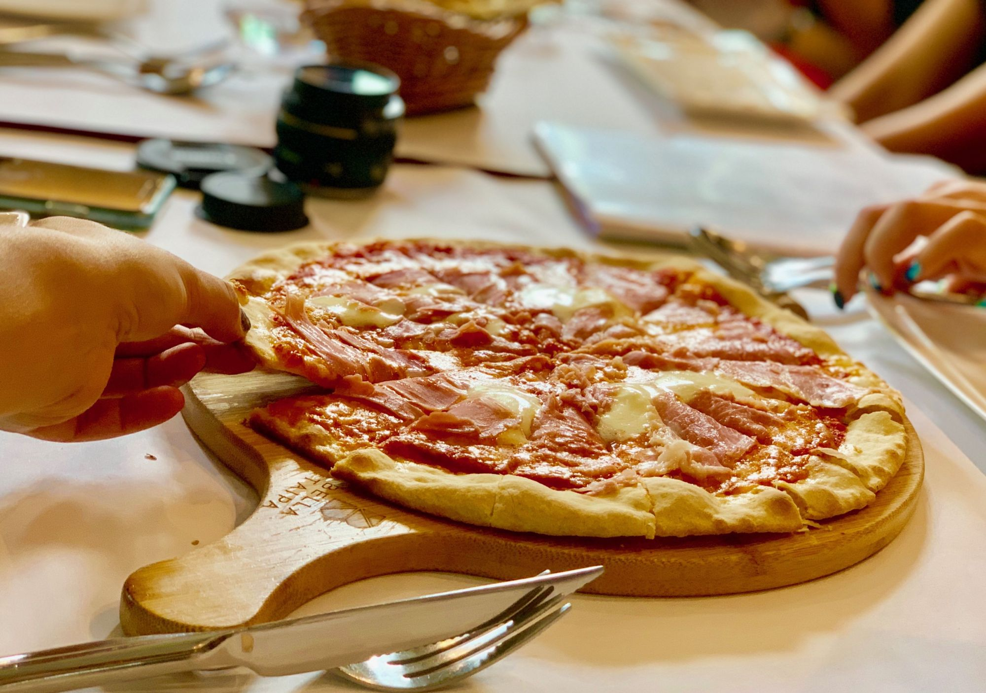 pizza bella taipa