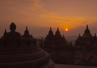 Amanjiwo, Indonesia – Borobudur at Sunrise
