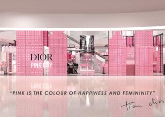 dior pink macau