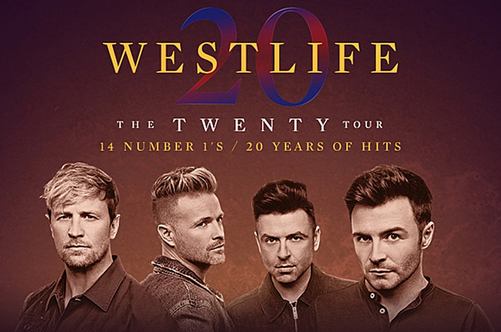 Westlife Live The Twenty Tour