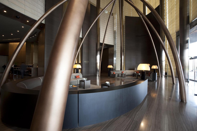 Wilson Associates Armani Hotel Dubai