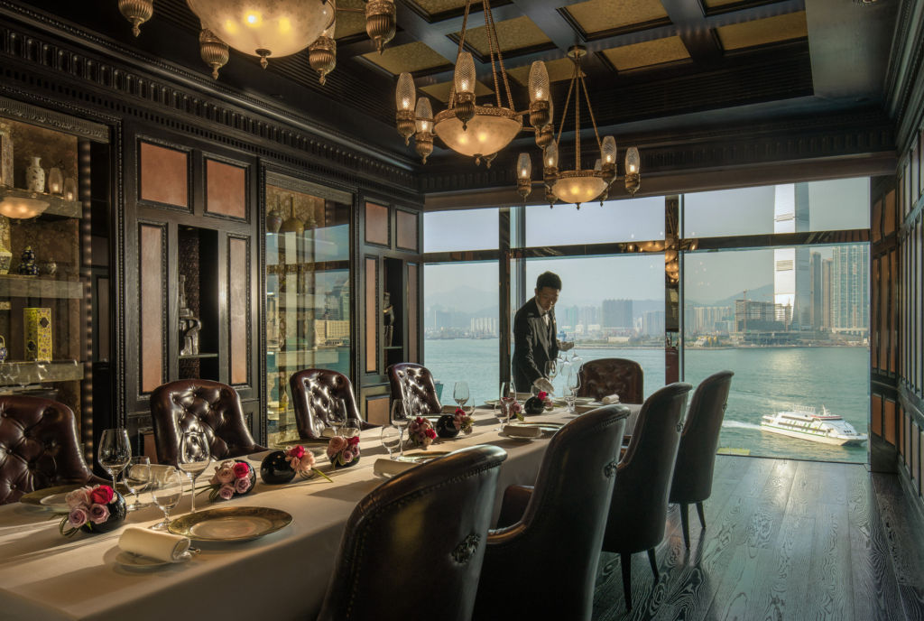 Four Seasons Caprice Guillaume Galliot private dinign room